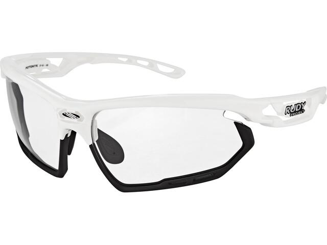 Rudy Project Fotonyk Gafas, white gloss - impactx photochromic 2 black